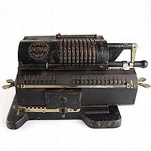 Felix Arithmometer Soviet Russian Calculating Machine.