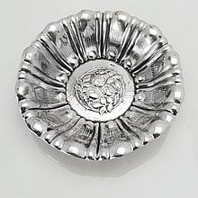 Austro-Hungarian Silver Bowl, Circa 1890.