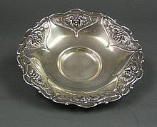 Sterling Silver Round Fruit Bowl