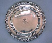 Tiffany & Co Sterling Silver Charger Salver, Circa 1900