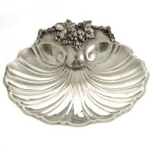 Reed & Barton Silver Plated Shell Shaped Serving Dish.