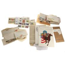 Collection of Stamps and First Day Envelopes.