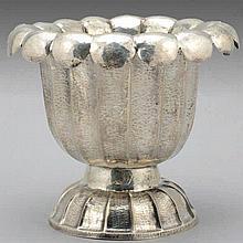 Art Deco Silver Wine Cooler Ice Bucket Budapest Ca 1920