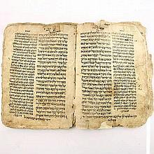 Yemenite Hebrew Bible Manuscript 17th Century Judaica
