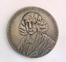 Spinoza Silver Medal Johannes Cornelis Wienecke 1927