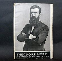 Dr Theodor Herzl The Father Of The Jewish State Booklet