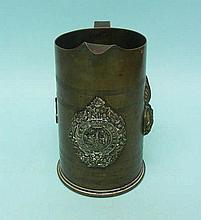 British Army Argyll & Sutherland Bombshell Jug Pitcher