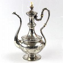 Silver Tea Coffee Pot Vienna Circa 1870