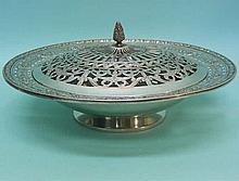 American Silver Pot Pourri Bowl Meriden Circa 1900