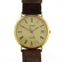 Tissot Stylist 14k Yellow Gold Wrist Watch.