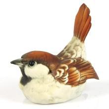 Capodimonte Porcelain Bird Sculpture.