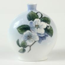Royal Copenhagen Art Nouveau Porcelain Vase, 1889-1922.