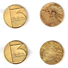 15 Maccabiah Medals, Israel, 1977-1993.