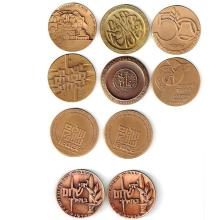 10 Israel Bronze State Medals.