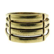 14k Yellow Gold Ring.