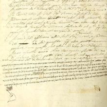 Rabbinical Manuscript Regulations Pitigliano 1773-1818