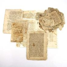 Assorted Antique Sephardi Manuscripts, Judaica.