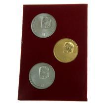 David Ben-Gurion Commemorative Gold and Silver Coin Set