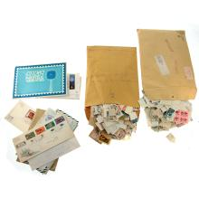 Lot of Stamps and First Day Envelopes.