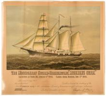 The Missionary Steam-Barkentine,