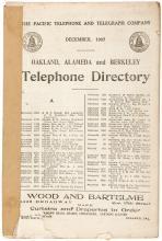 Oakland, Alameda, and Berkeley Telephone Directory. December 1907