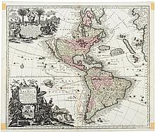 Novus Orbis Sive America Meridionalis et Septentrionalis per sua Regna, Provincias et Insulas Iuxta Observationes et Descriptiones Resentiss. Divisa et Adornata