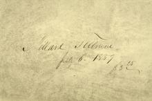 Vestiges of the Spirit-History of Man - Millard Fillmore's Copy