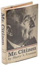 Mr. Citizen - signed by Harry Truman