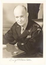 Photograph Signed by Dwight D. Eisenhower