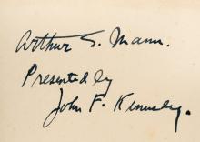 ***WITHDRAWN***As We Remember Joe - Inscribed by John F. Kennedy