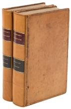 Two volumes from Blackstone's Commentaries on the Laws of England