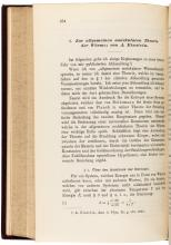 Four early papers by Albert Einstein, in four volumes of Annalen der Physik