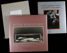 Lot of 3 volumes of photographs of nudes