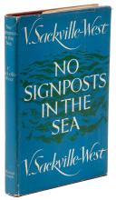No Signposts in the Sea - with an autograph letter, signed, from the author