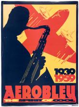 Aeroblue The Spirit of Cool 1939-1959 - vintage poster