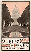 The Century for February - poster illustrated by Henry McCarter