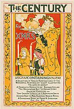 The Century for Xmas - poster by Louis Rhead
