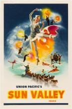 Union Pacific's Sun Valley Idaho poster