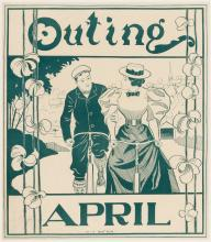 Outing April - poster illustrated by H.S. Watson