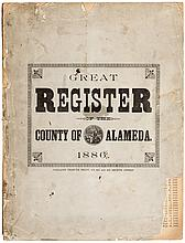 Great Register of the County of Alameda 1886