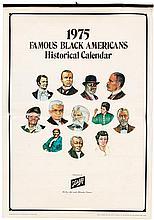 Three African-American historical calendars