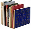 Eleven volumes of Americana from various fine presses