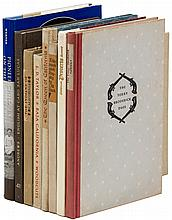 Nine volumes of Americana, some by The Book Club of California and The Colt Press