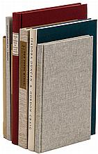 Seven volumes of Americana by The Book Club of California