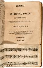 The Psalms of David [with] A Valuable Collection of Sacred Musick, Adapted to the Various Metres in Watts