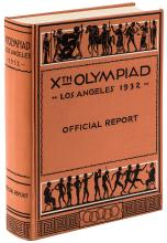 ***WITHDRAWN***The Games of the Xth Olympiad, Los Angeles 1932