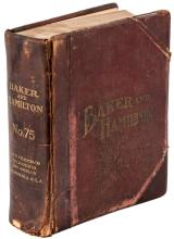 Catalog No. 75 for Baker & Hamilton of San Francisco