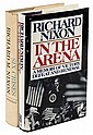 Two signed volumes by Richard Nixon