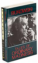 Two works by Charles Bukowski, signed by Lawrence Ferlinghetti and Linda King