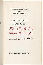 Zwischen Mitternacht und Morgen. Ein Traumtagebuch Mit dem Traum von Tibet von Allen Ginsberg - Allen Ginsberg's own copy, signed by him